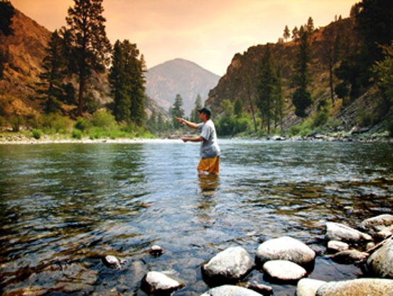 Flyfishing, Middle Fork Salmon River