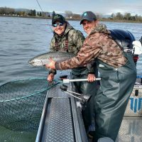 St. Laurent Guide Service offering Willamette River Guided fishing trips